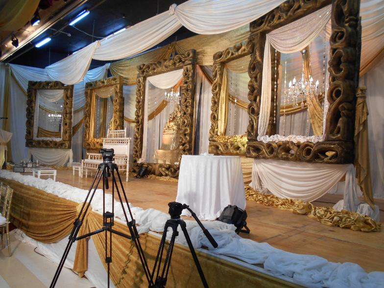 frame decor set - kendra hall durban weddings