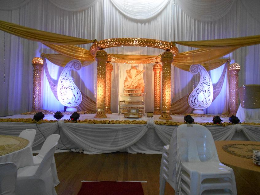 crown jewel mandap gold durban- orient hall
