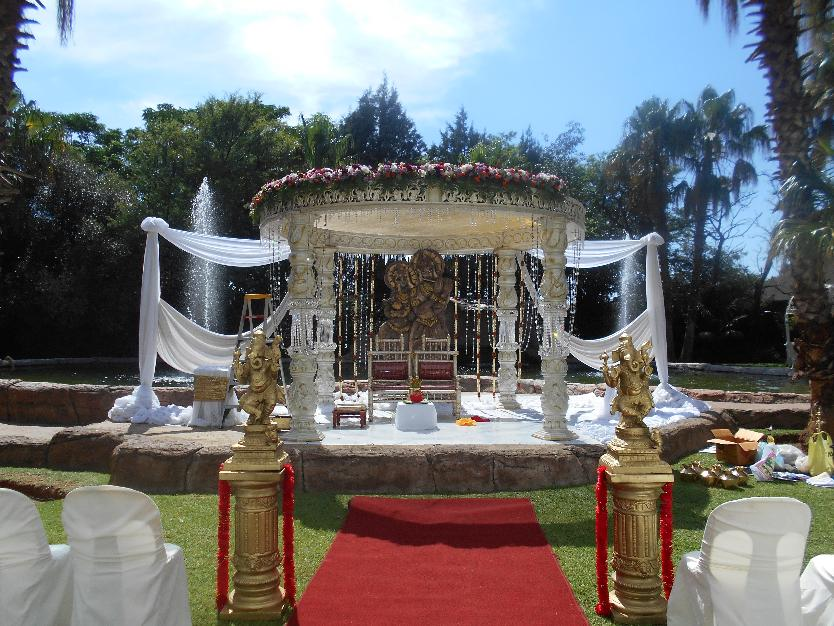 crystal mandap usambara- indian wedding