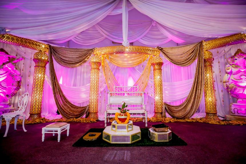 indian wedding decor durban - MECC