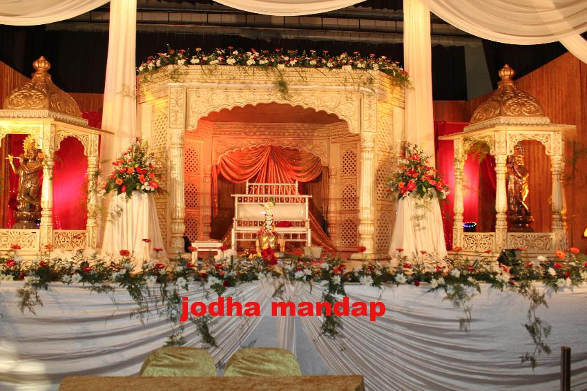 A.S.K DECOR JODHA MANDAP DECOR- toti hall