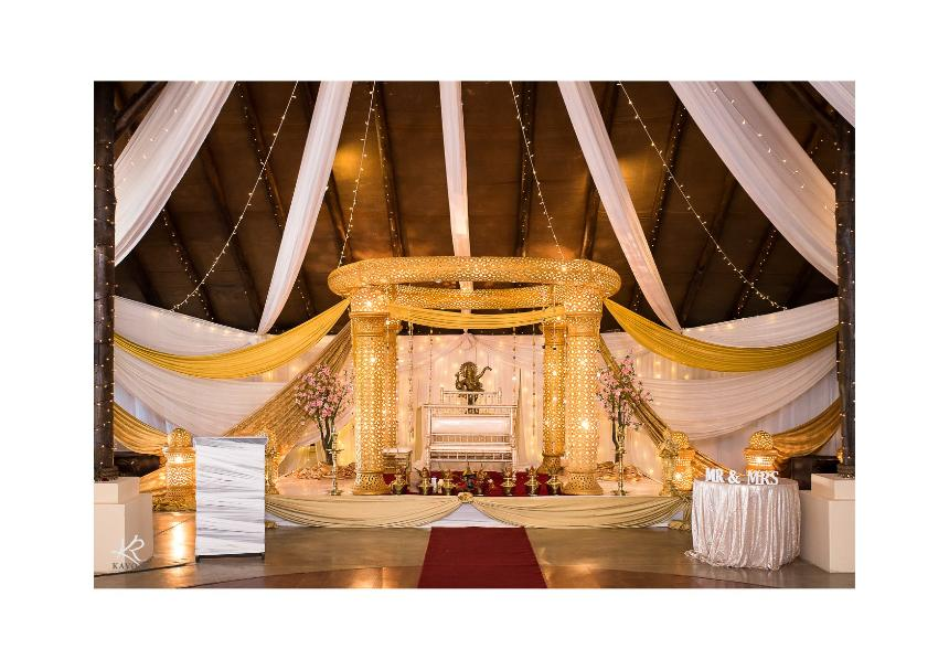 Collisheen estate indian wedding decor