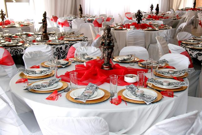 a.s.k decor and caterers table setting